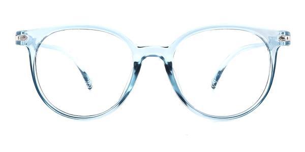 1547 Iona Oval blue glasses