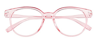 1547 Iona Oval pink glasses