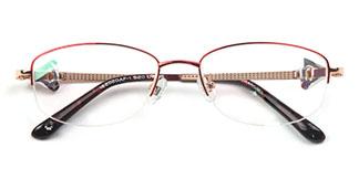 162020 Elaine Oval pink glasses