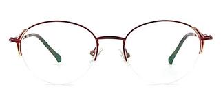 17002 Birch Cateye red glasses