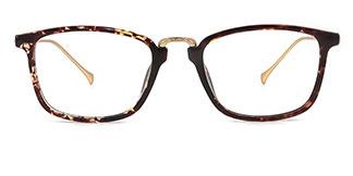 171014 Henretta Rectangle tortoiseshell glasses