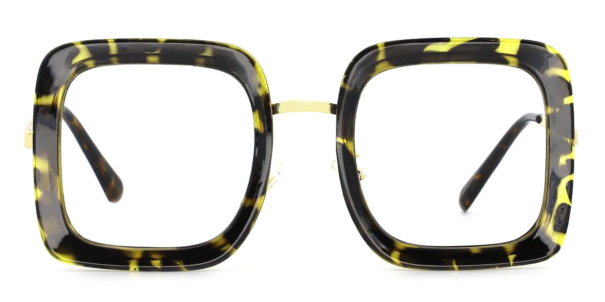 1745 Abiba Rectangle tortoiseshell glasses
