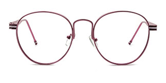 1747 Kasandra Oval pink glasses