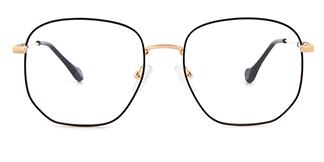 1761 Eleannore Geometric black glasses