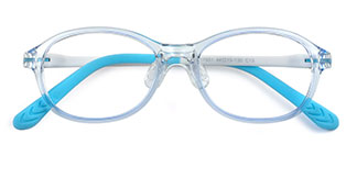 17651 Ella Oval pink glasses