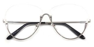 1789 Skylar Oval black glasses