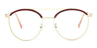 180051 Marcus Aviator red glasses