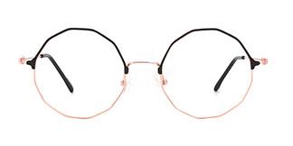 18007 Nalany Geometric black glasses
