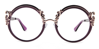 18028 Aphrodite Round purple glasses