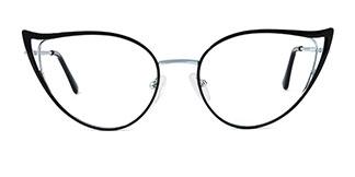 18029 Fairfax Cateye black glasses