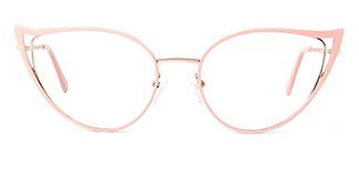 18029 Fairfax Cateye pink glasses