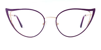 18029 Fairfax Cateye purple glasses