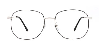 18039 Nicki Geometric black glasses
