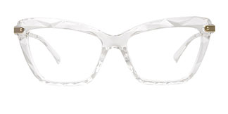 18041 Delfina Cateye clear glasses