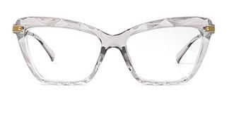 18041 Delfina Cateye grey glasses
