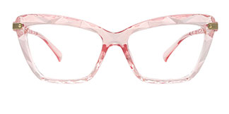 18041 Delfina Cateye pink glasses