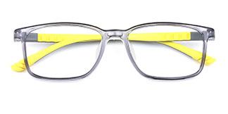 1809 Irl Rectangle grey glasses