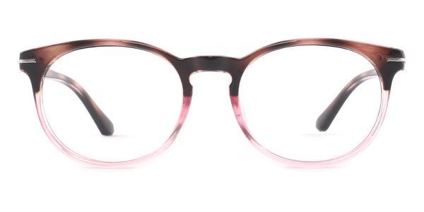 18145 Jeremy Oval pink glasses