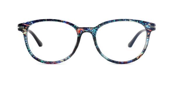 18146 Lana Oval blue glasses