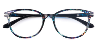 18146 Lana Round,Oval blue glasses