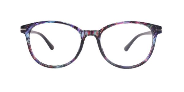 18146 Lana Oval red glasses