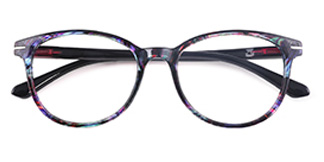 18146 Lana Round,Oval red glasses