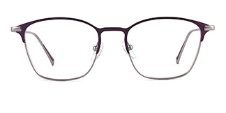 18331 dextrad Rectangle purple glasses