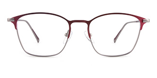 18331 dextrad Rectangle red glasses