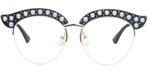 1844 Madge Cateye tortoiseshell glasses