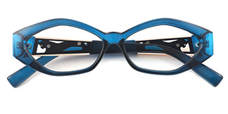 1847 Deane Geometric blue glasses
