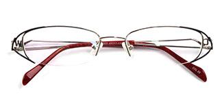 18503-1 Drums Oval black glasses