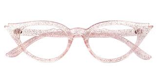 18510 LaDon Cateye pink glasses