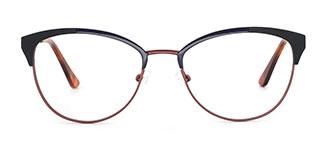 18521 Paloma Cateye red glasses