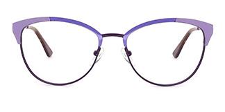 18521 Paloma Cateye purple glasses