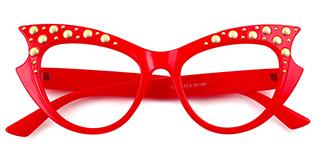18550 Priscilla Cateye tortoiseshell glasses