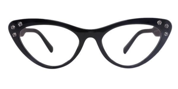 18701 Hana Cateye black glasses