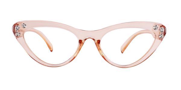 18701 Hana Cateye orange glasses