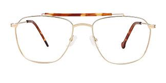 1876 Idande Aviator tortoiseshell glasses