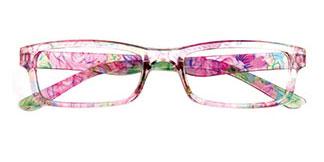18908 Hester Rectangle pink glasses