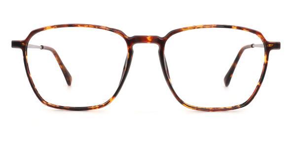 1896 Lauretta Geometric tortoiseshell glasses