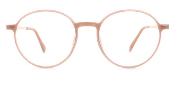 1897 Mandy Round brown glasses