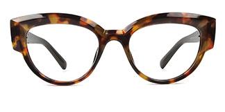 19034 Rene Cateye tortoiseshell glasses