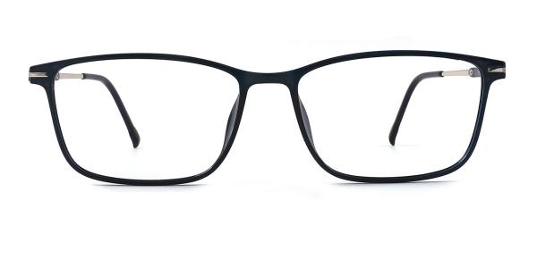 19071 Oriana Rectangle blue glasses