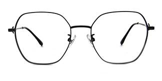 190931 Anais Geometric, black glasses