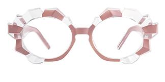 19097 Annetta  pink glasses