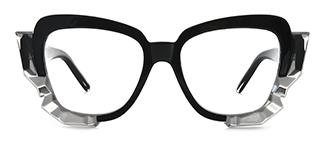 19099 Ardenia Butterfly black glasses