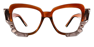 19099 Ardenia Butterfly brown glasses