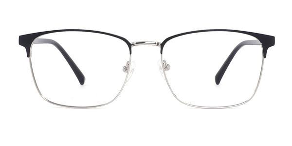 1926 Ishbak Rectangle silver glasses