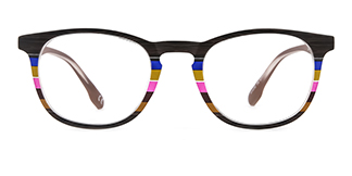 195134 ishara Oval brown glasses
