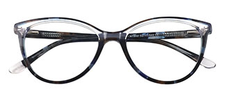 1992 Caiden Cateye black glasses